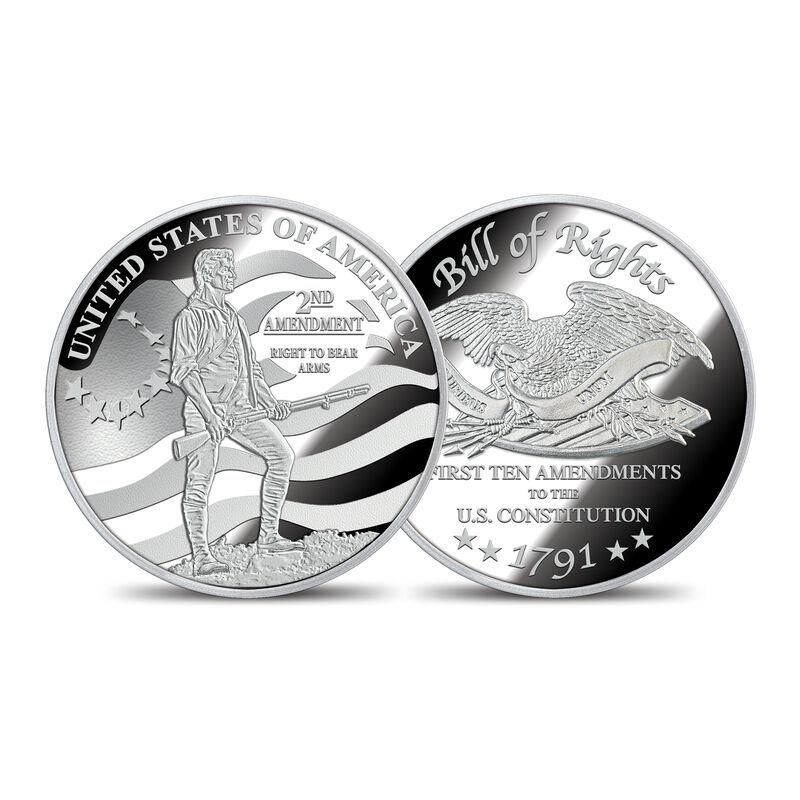 The Bill of Rights Silver Bullion Commemoratives 6530 0022 b commemorative2