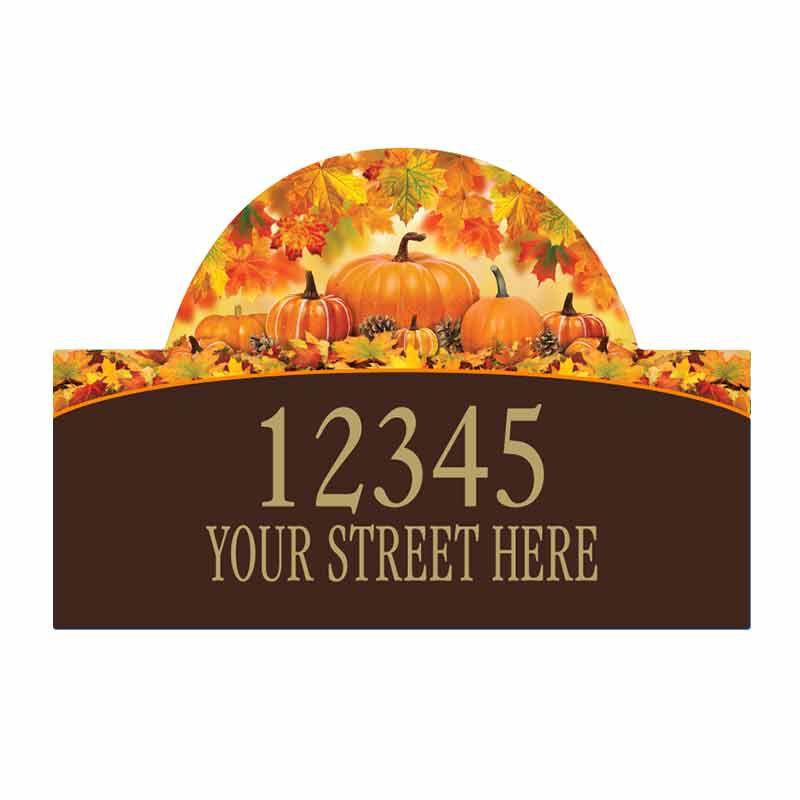 Seasonal Sensations Personalized Address Plaque 1919 002 4 1