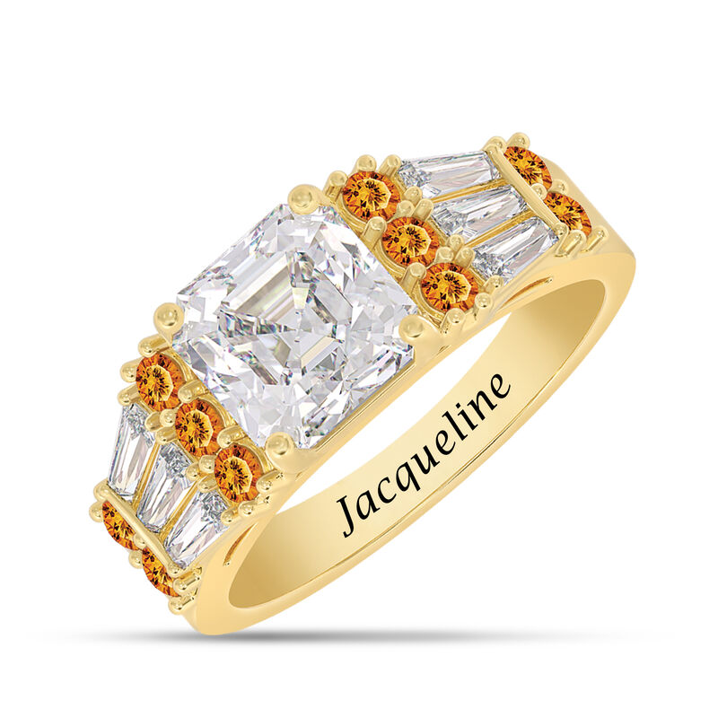 Birthstone Statement Ring 10142 0016 k november