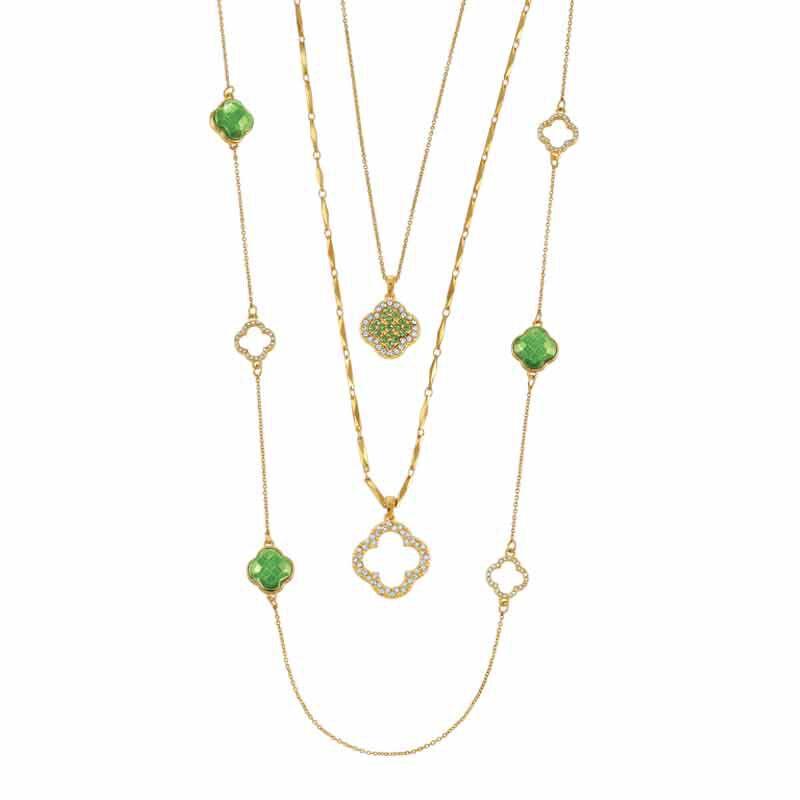 Birthstone Beauty Layered Necklace Set 6594 001 7 8
