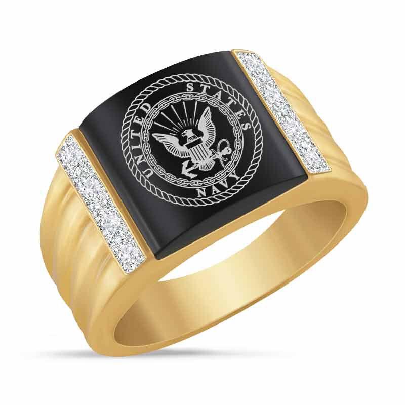 Navy Prestige Mens Ring 6266 001 4 1
