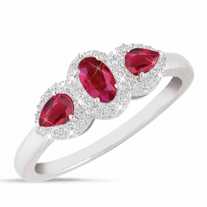I Love You Ruby  Diamond Ring 1993 001 5 1