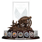 The Civil War Silver Commemoratives Collection 2431 0021 a display