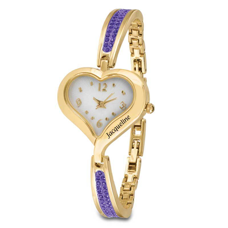 The Her First Name Birthstone Watch 6015 001 8 6