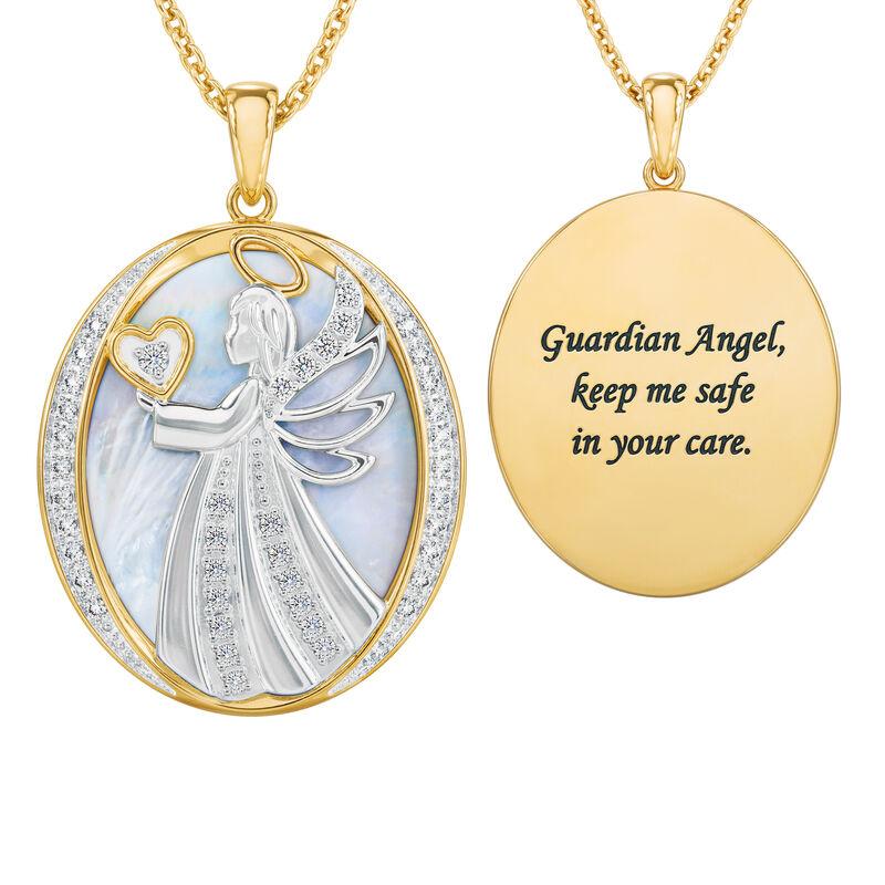 Guardian Angel Diamond Pendant 10114 0010 a main