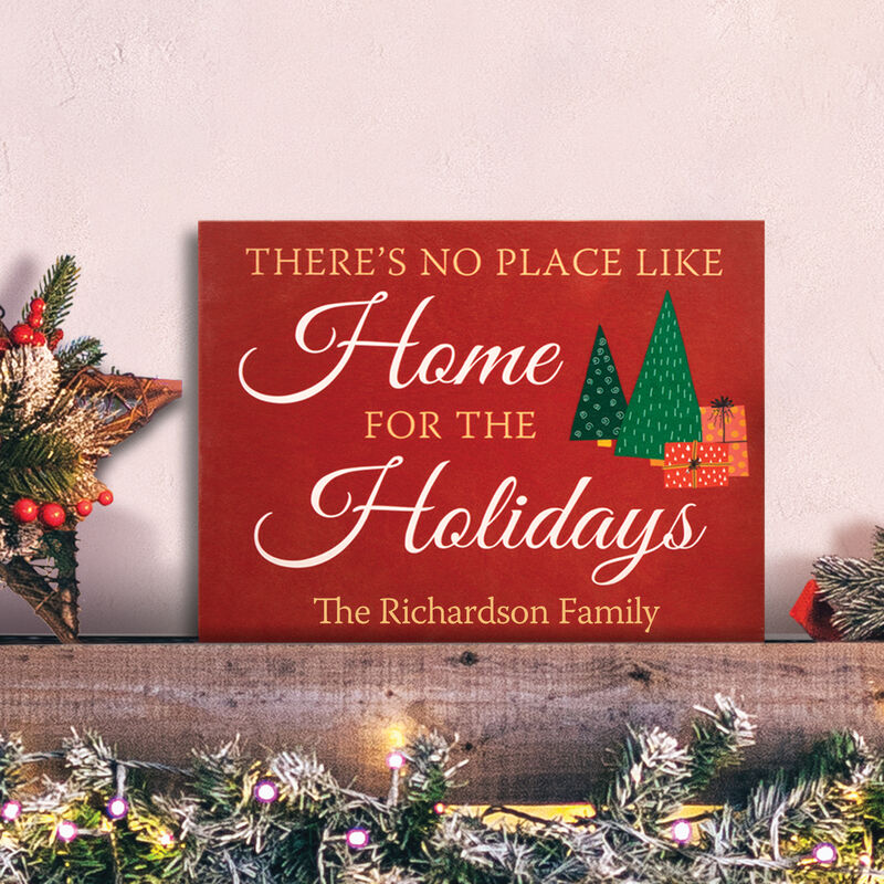 The Personalized Christmas Wood Sign 6996 0029 m room