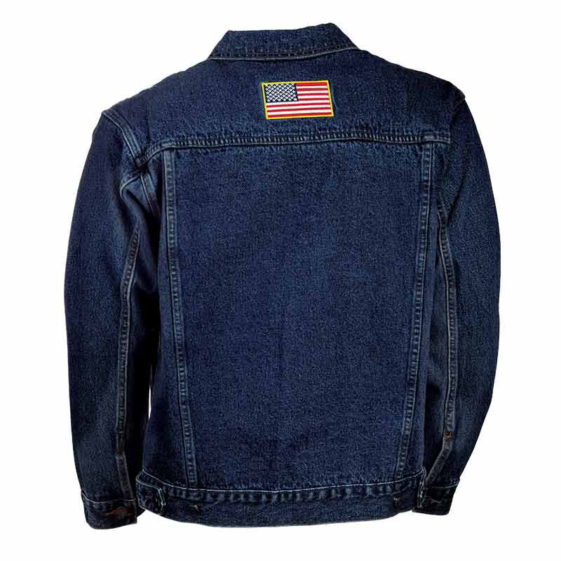 The Personalized Mens US Navy Denim Jacket 1365 002 3 2