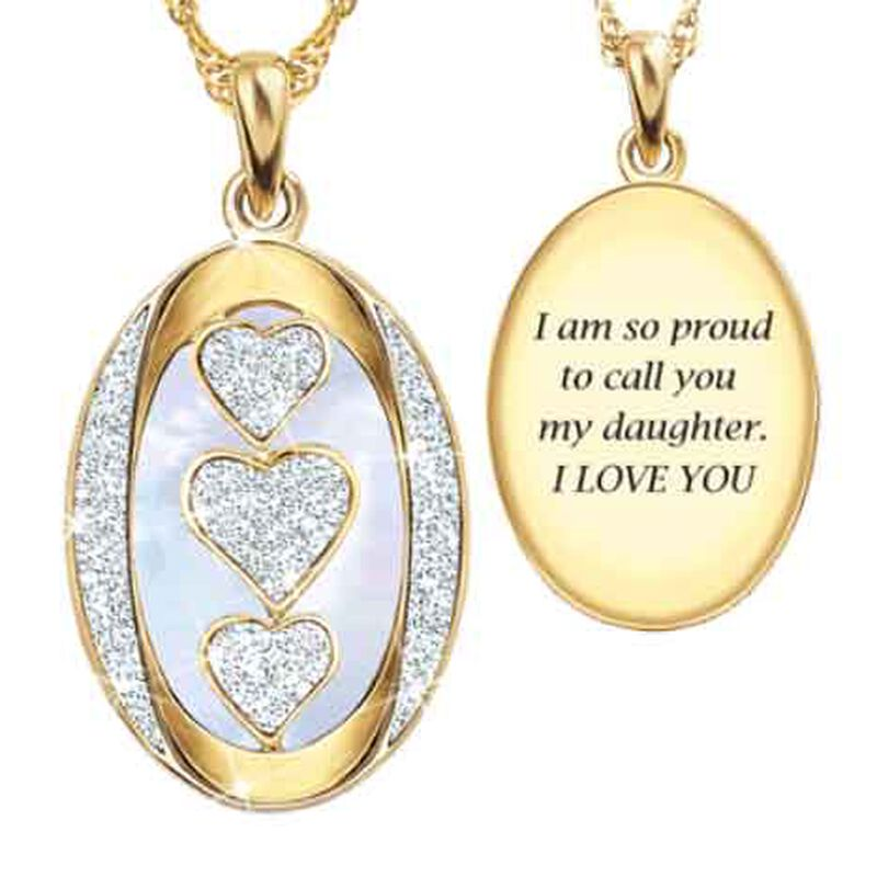 My Daughter My Little Girl Then Diamond Pendant 1162 009 3 1