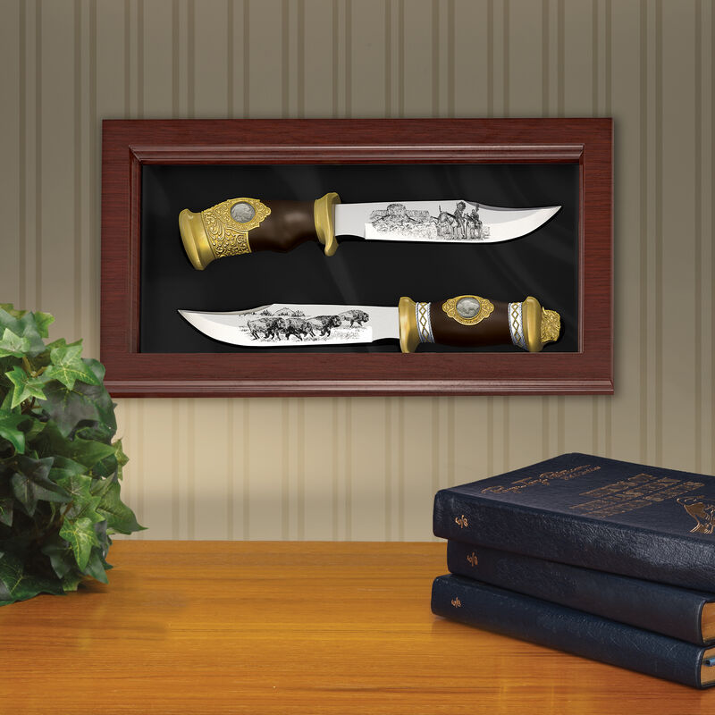 The Buffalo Nickel Bowie Knife Set 6663 0013 m room