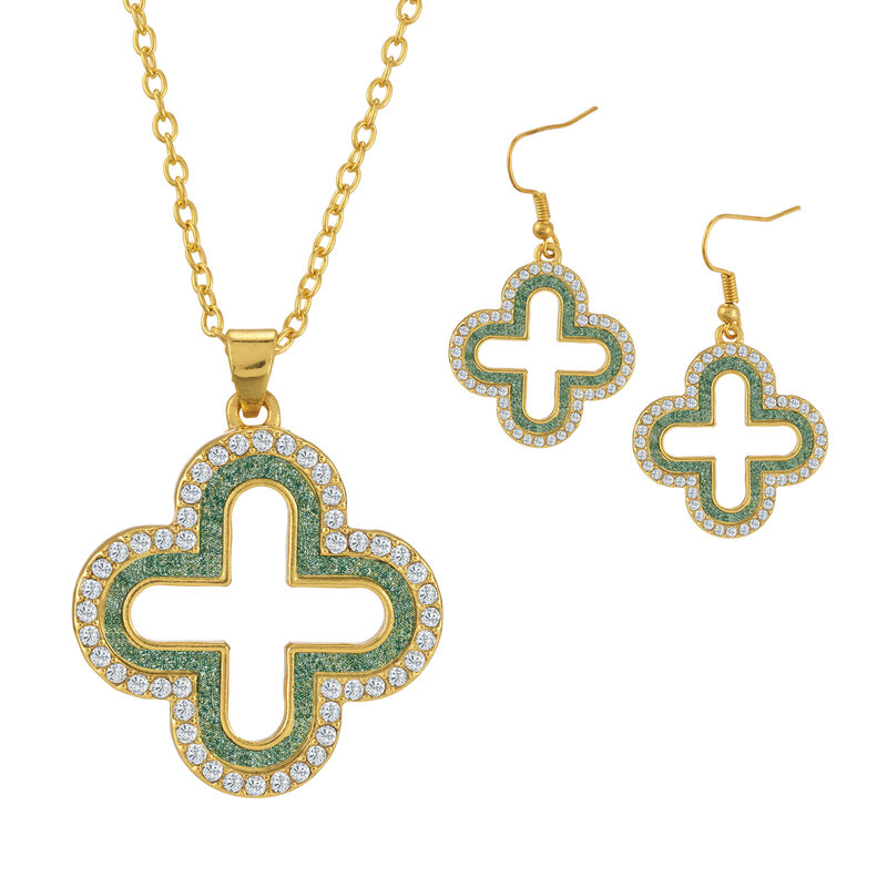 Sparkling Statements Pendant and Earring collection 10028 0015 d march