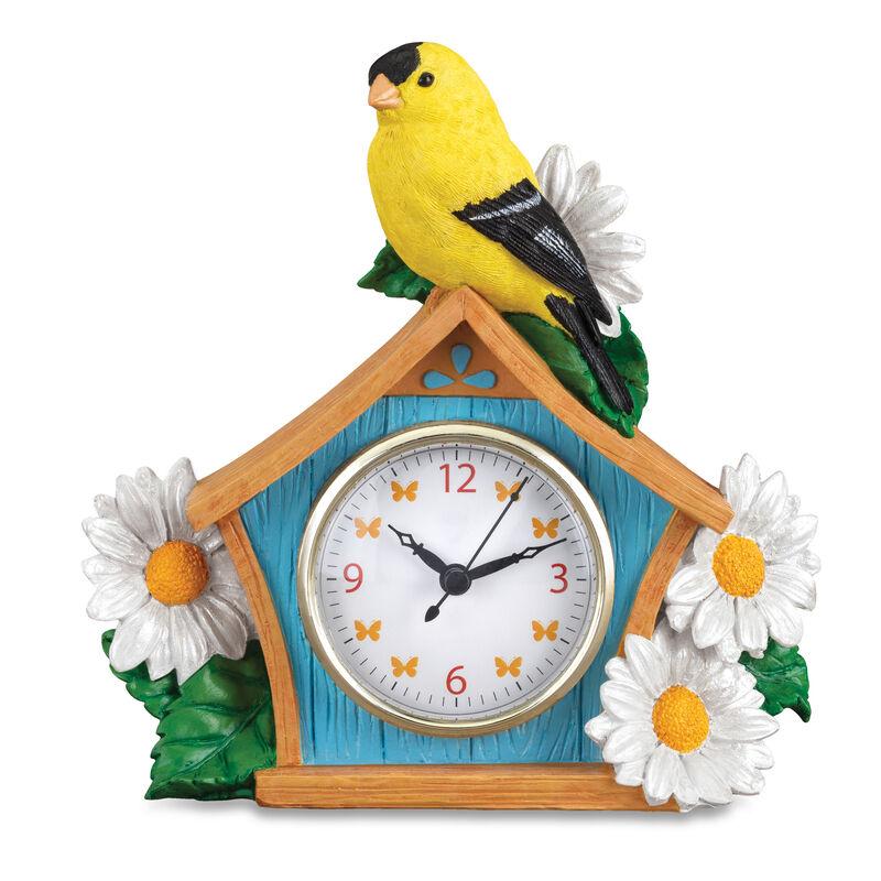 Seasonal Sensations Figural Clocks 10167 0016 b june