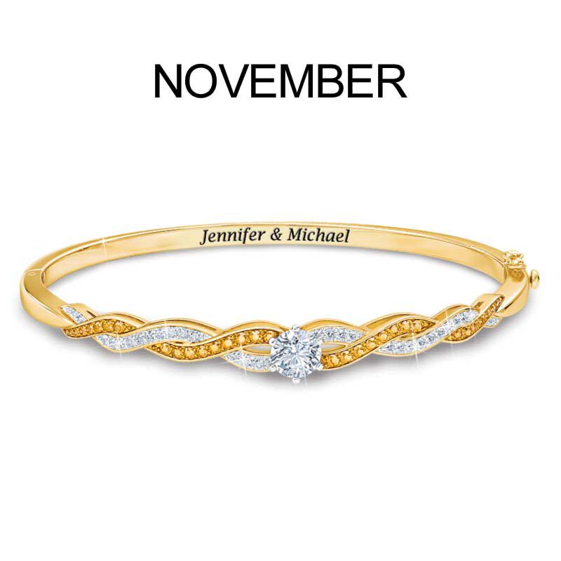 Birthstone Swirl Bracelet 5821 002 2 12