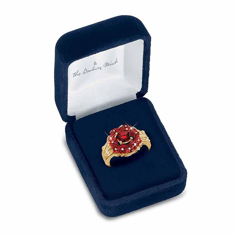 A Dozen Roses Diamond Ring 1457 001 4 3