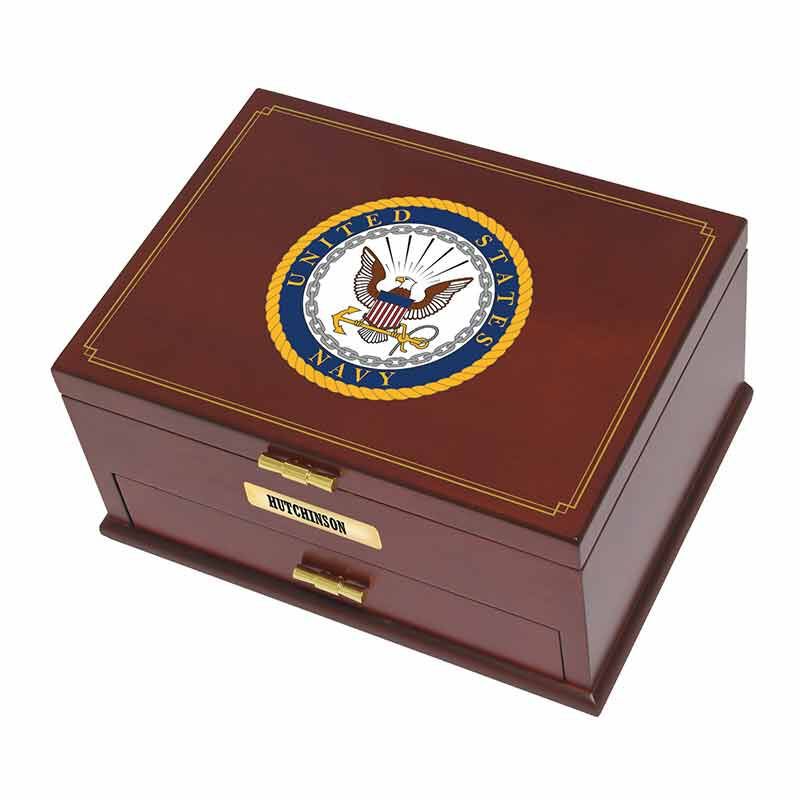 The Personalized US Navy Valet Box 1711 007 3 3