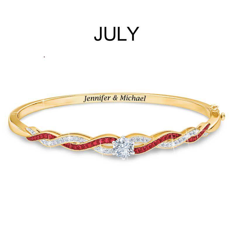 Birthstone Swirl Bracelet 5821 002 2 8