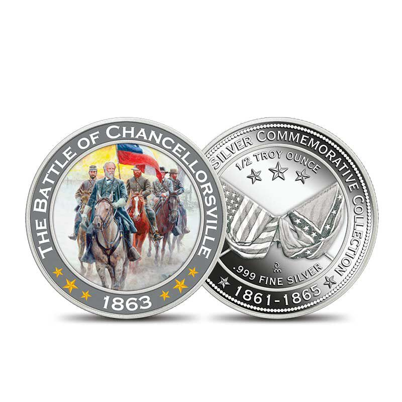 The Civil War Silver Commemoratives Collection 2431 001 3 3