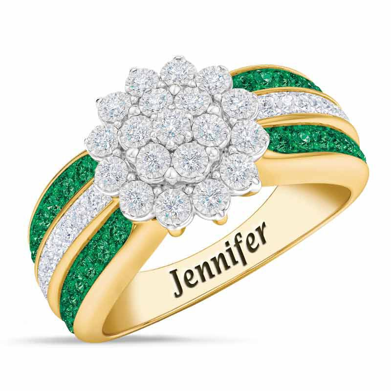 Personalized Birthstone Radiance Ring 5687 003 3 5