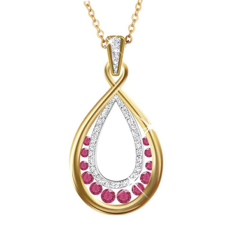 A Dozen Rubies  Diamonds Pendant 1651 001 8 1