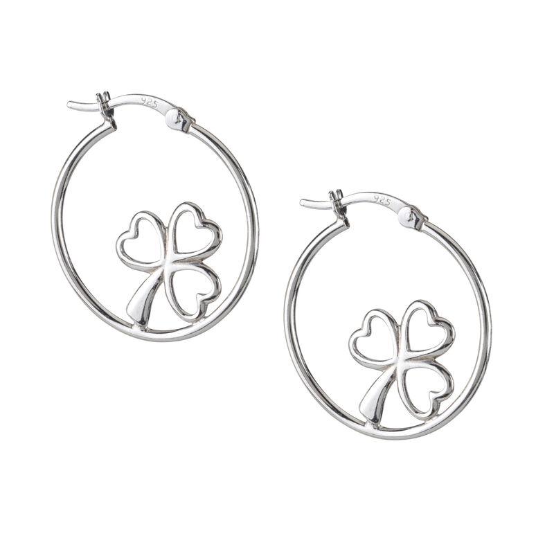 A Sterling Year Silver Hoop Earrings 10633 0012 h earring08