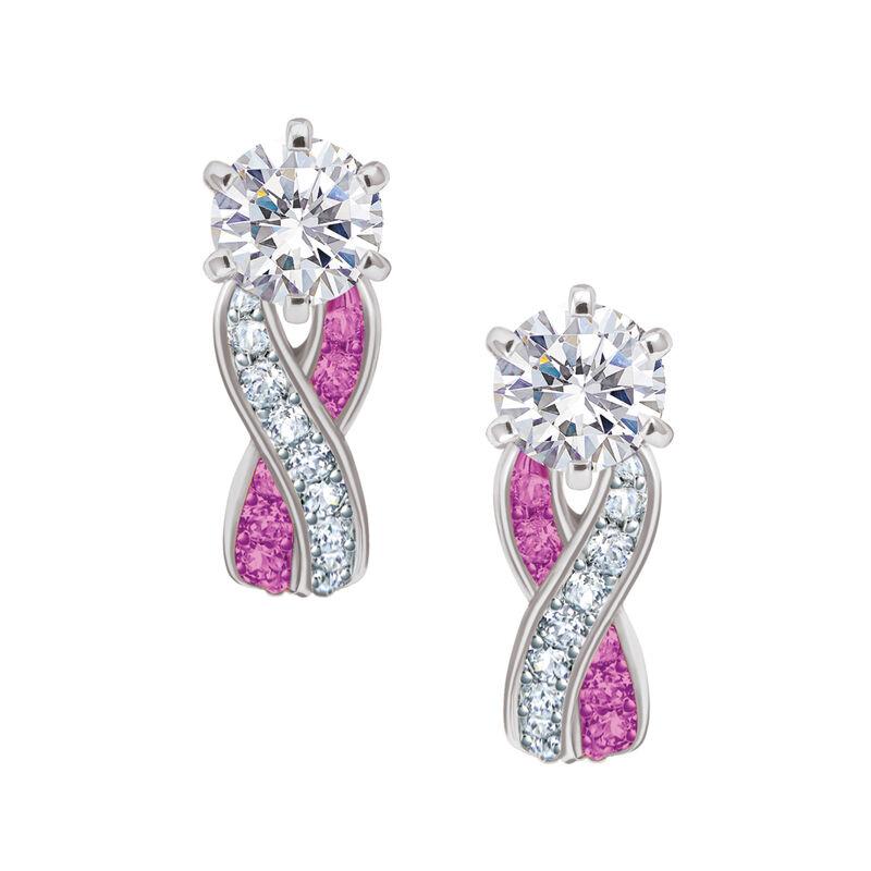 Birthstone Swirl Earrings 6366 0021 j october