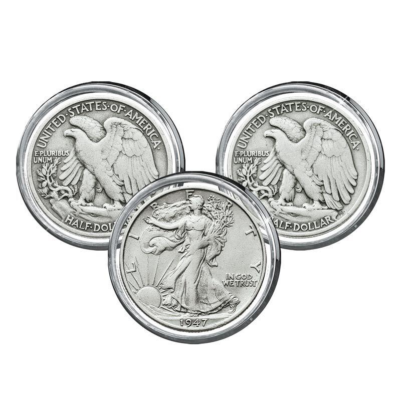 Walking Liberty Silver Half Dollars Collection 4541 002 4 1