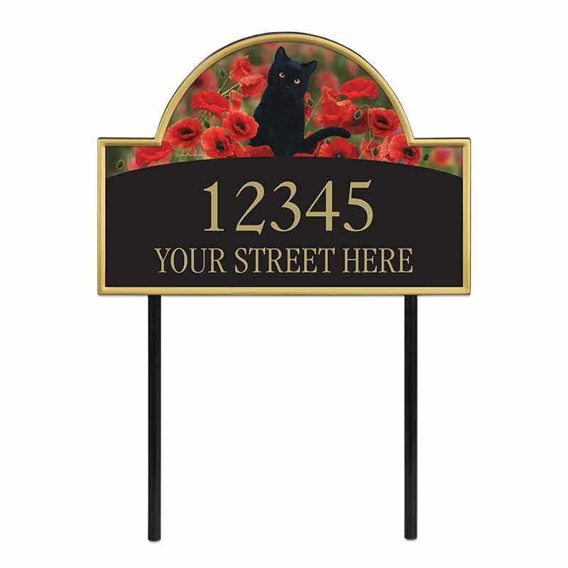 The Captivating Kitties Address Plaque by Simon Mendez 1088 002 9 1