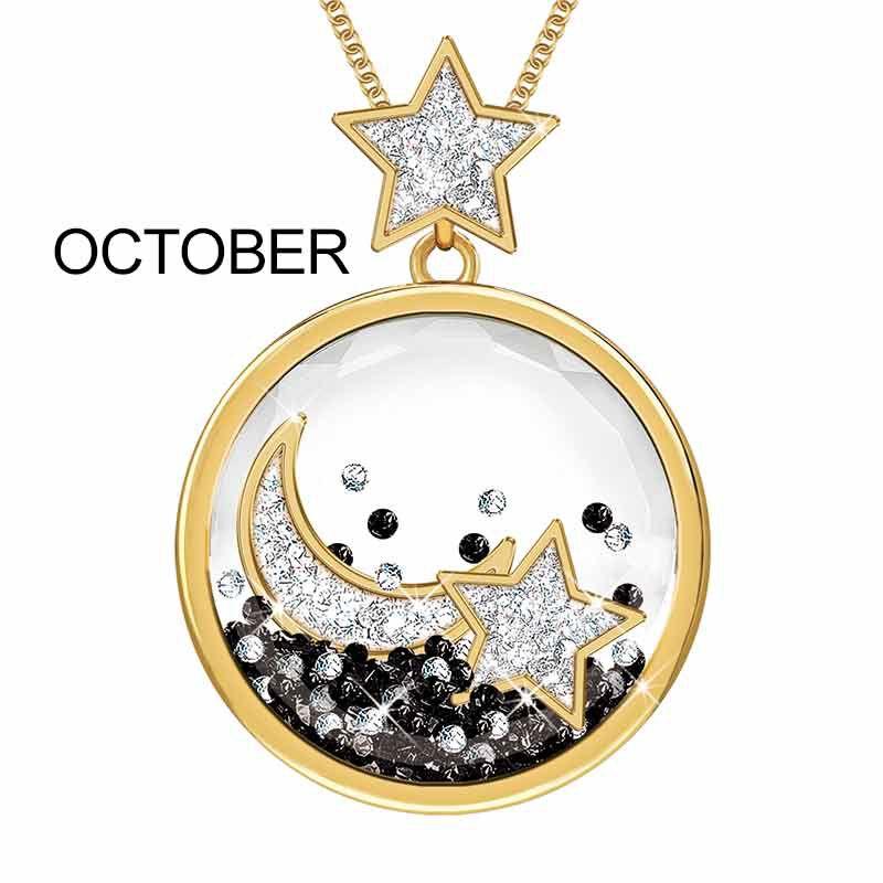 Year of Cheer Floating Crystal Pendants 1553 001 7 11