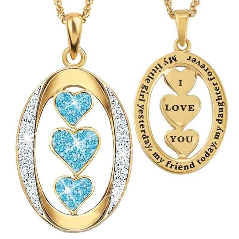 My Daughter I Love You Diamond Pendant 1136 001 3 3