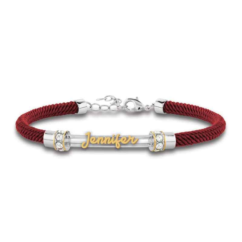 Personalized Birthstone Rope Bracelet 4947 005 7 3