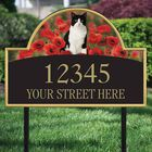 The Captivating Kitties Address Plaque by Simon Mendez 1088 003 7 2