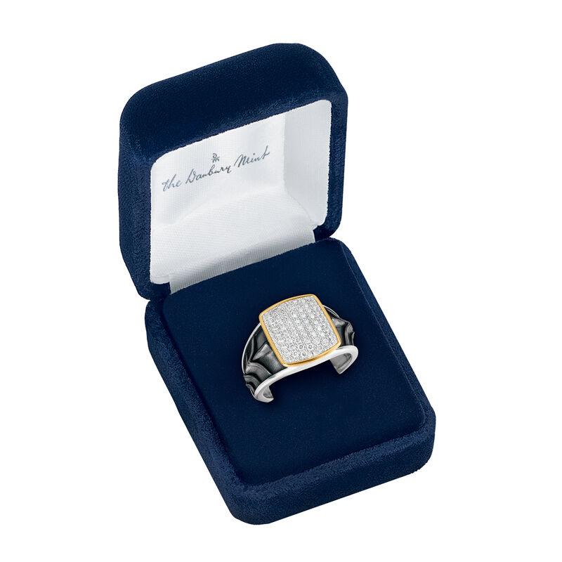 Diamond Knight Mens Ring 10158 0017 g gift box