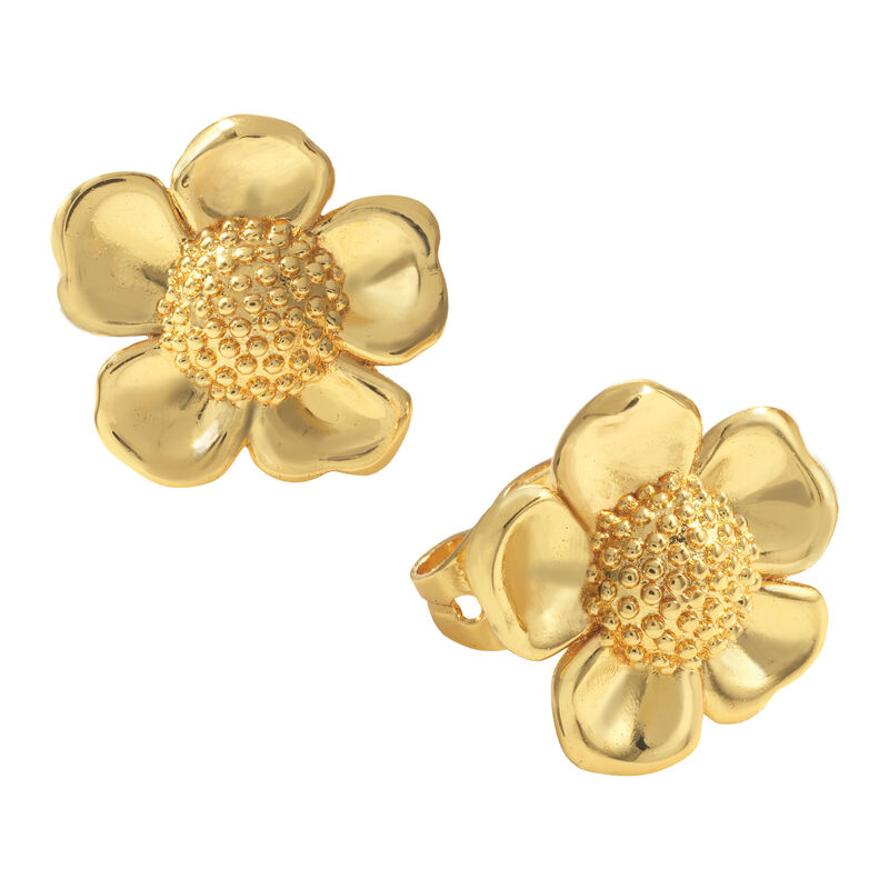 Golden Essentials Earrings Collection 10171 0010 d earring three