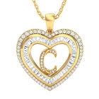 Initial Heart Pendant 10383 0014 a main
