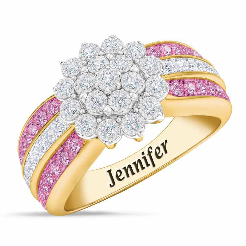 Personalized Birthstone Radiance Ring 5687 003 3 10