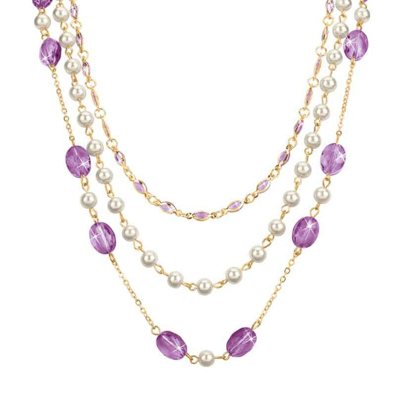 Birthstone Elegance Necklace Set 1478 001 9 6