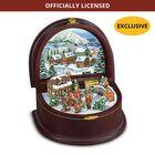 The MI Hummel Winter Enchantment Music Box 5340 001 6 1