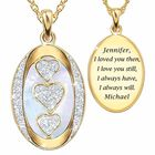Personalized Diamond I Love You Pendant 5238 002 9 1