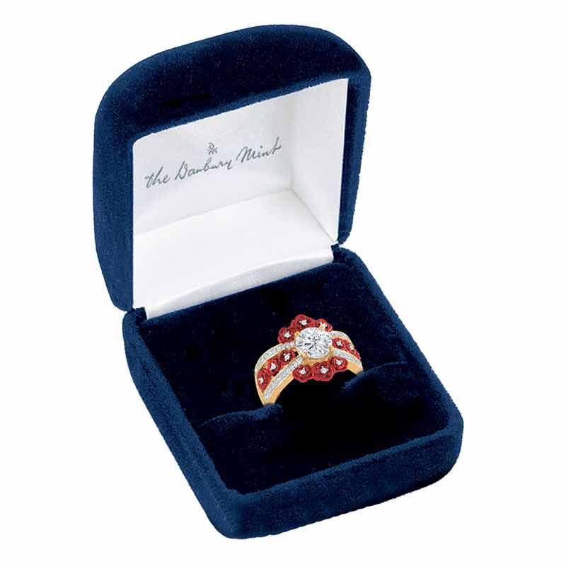 A Bouquet of Roses Diamond Ring 6272 001 6 4