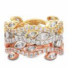 Leaves of Luxury Eternity Ring Set 6143 001 3 1