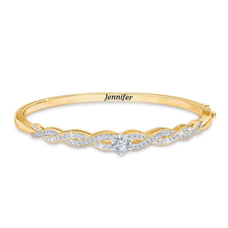 Birthstone Swirl Bracelet 5821 001 4 4
