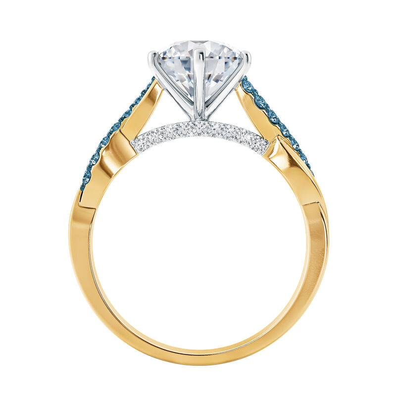 I Still Do Birthstone Ring Set 6740 0010 c side