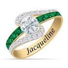 Personalized Birthstone Splendor Ring 10385 0012 e may
