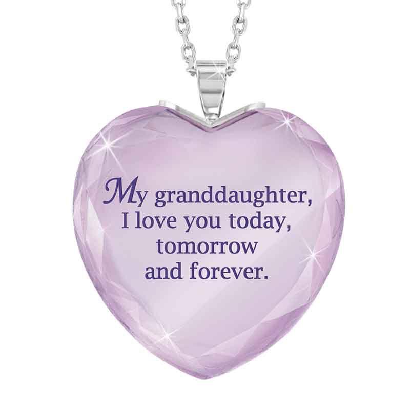 Granddaughter Crystal Pendant 5199 006 7 2