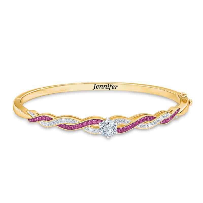 Birthstone Swirl Bracelet 5821 001 4 10