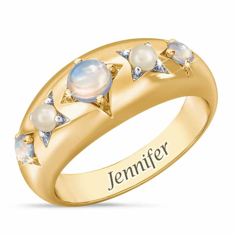 Royal Radiance Personalized Birthstone Ring 1906 001 1 6