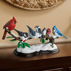 Winter Gathering Songbird Sculpture 1534 001 1 1