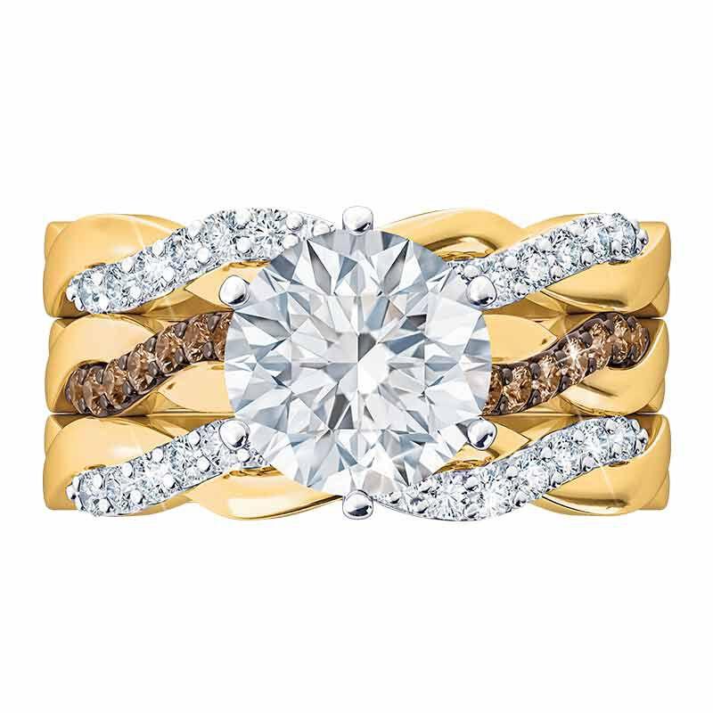 I Still Do Diamonisse Ring Set 2451 001 8 3