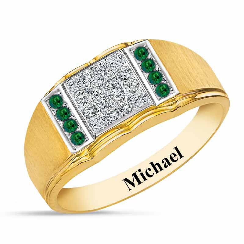 Birthstone Diamond Ring 5211 001 2 5