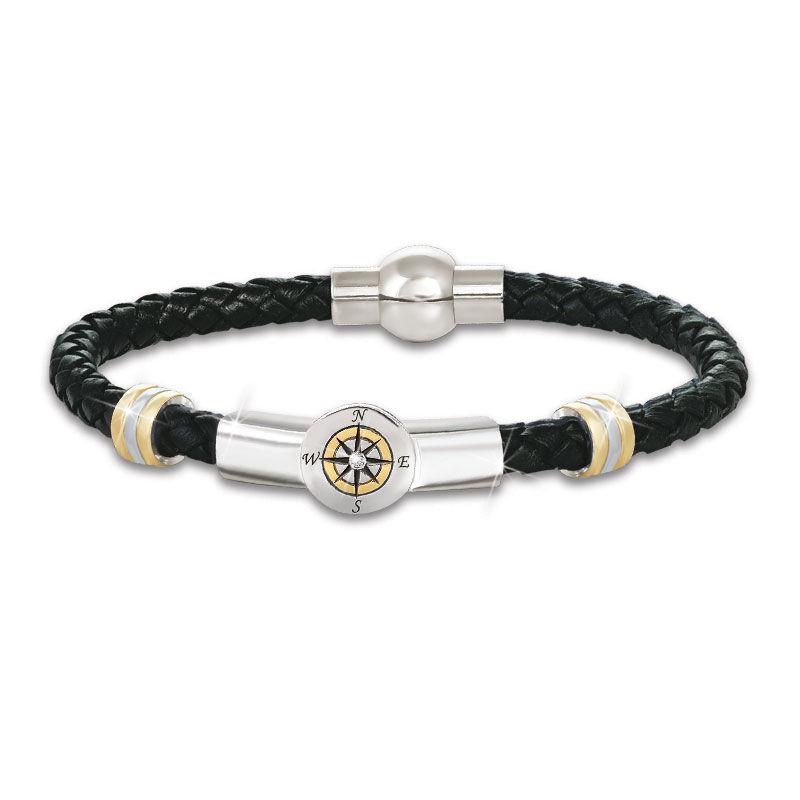 Grandson Leather Graduation Bracelet 5702 006 7 1