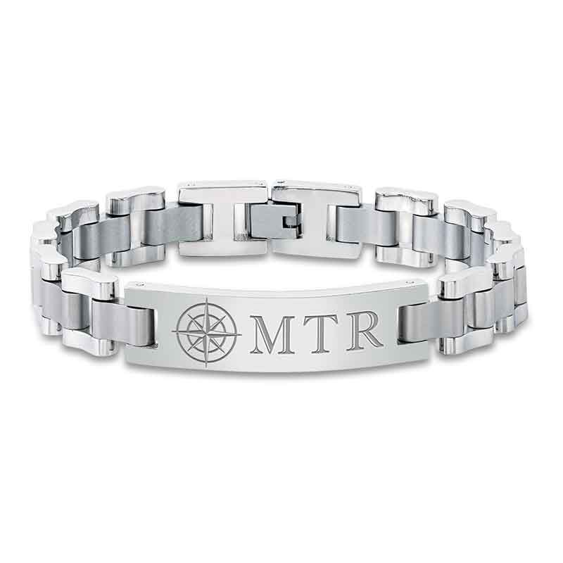 For My Son Personalized Compass Bracelet 2020 001 0 1